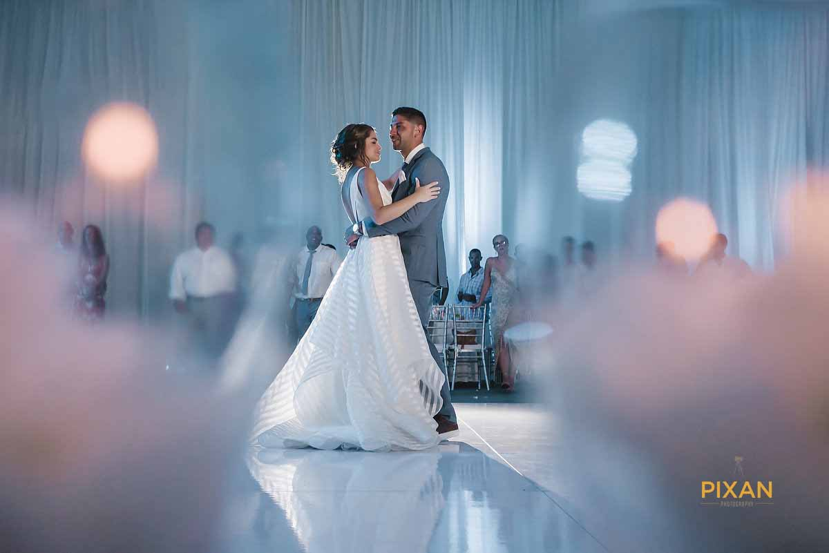 dreams playa mujeres wedding 1st Dance