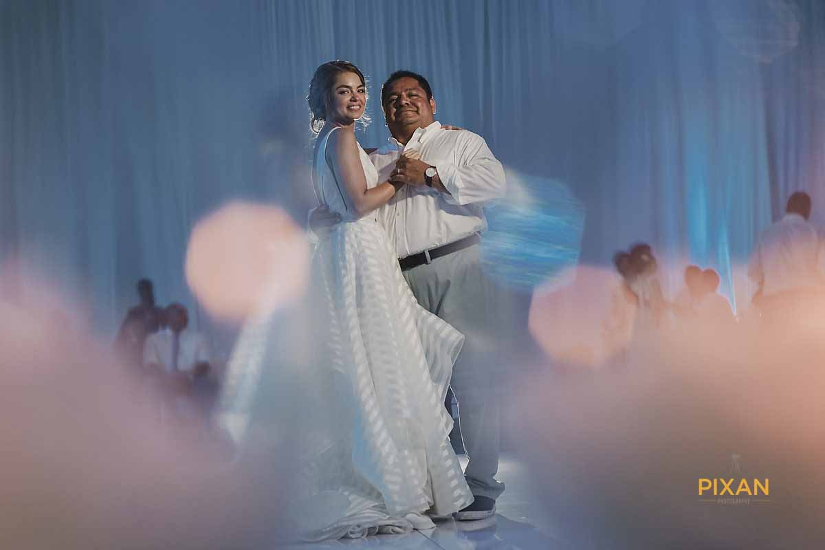 dreams playa mujeres wedding Father Daughter Dance