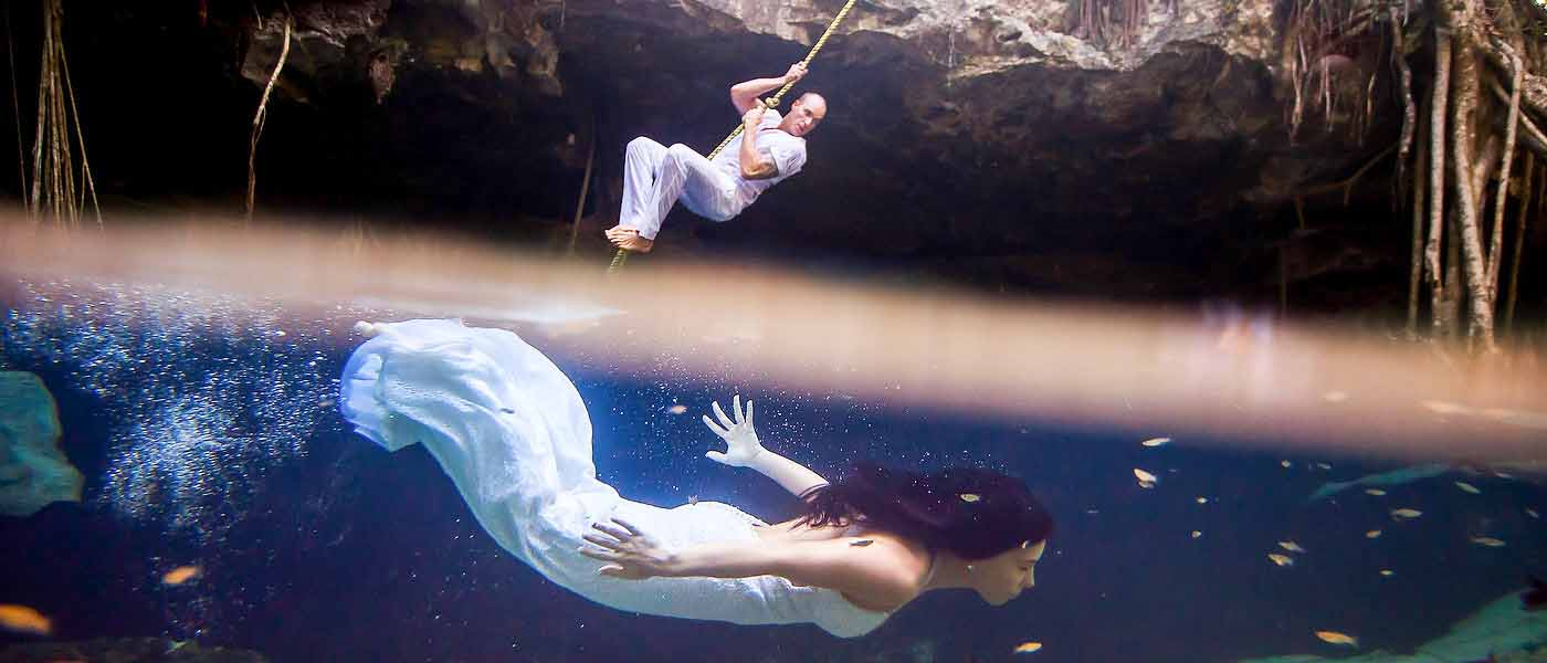 trash the dress swing riviera maya
