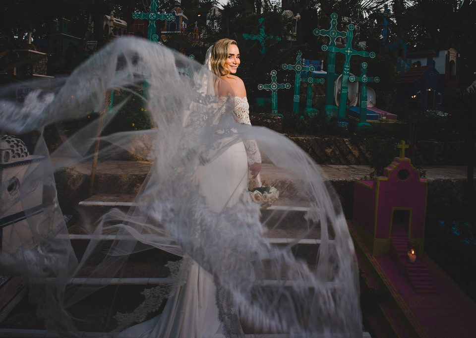 Xcaret-Wedding-Brides-Portrait