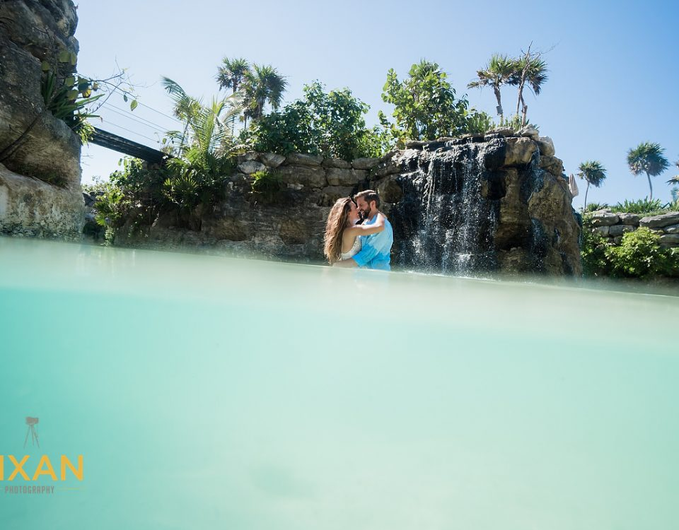 Hotel Xcaret Mexico Trash The dress