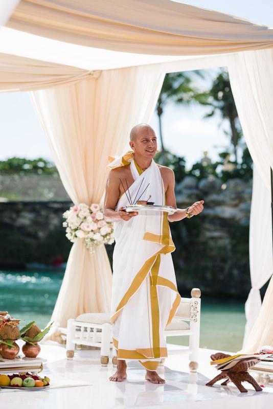Hotel Xcaret Mexico Indian Mixed Destination Wedding Pundit