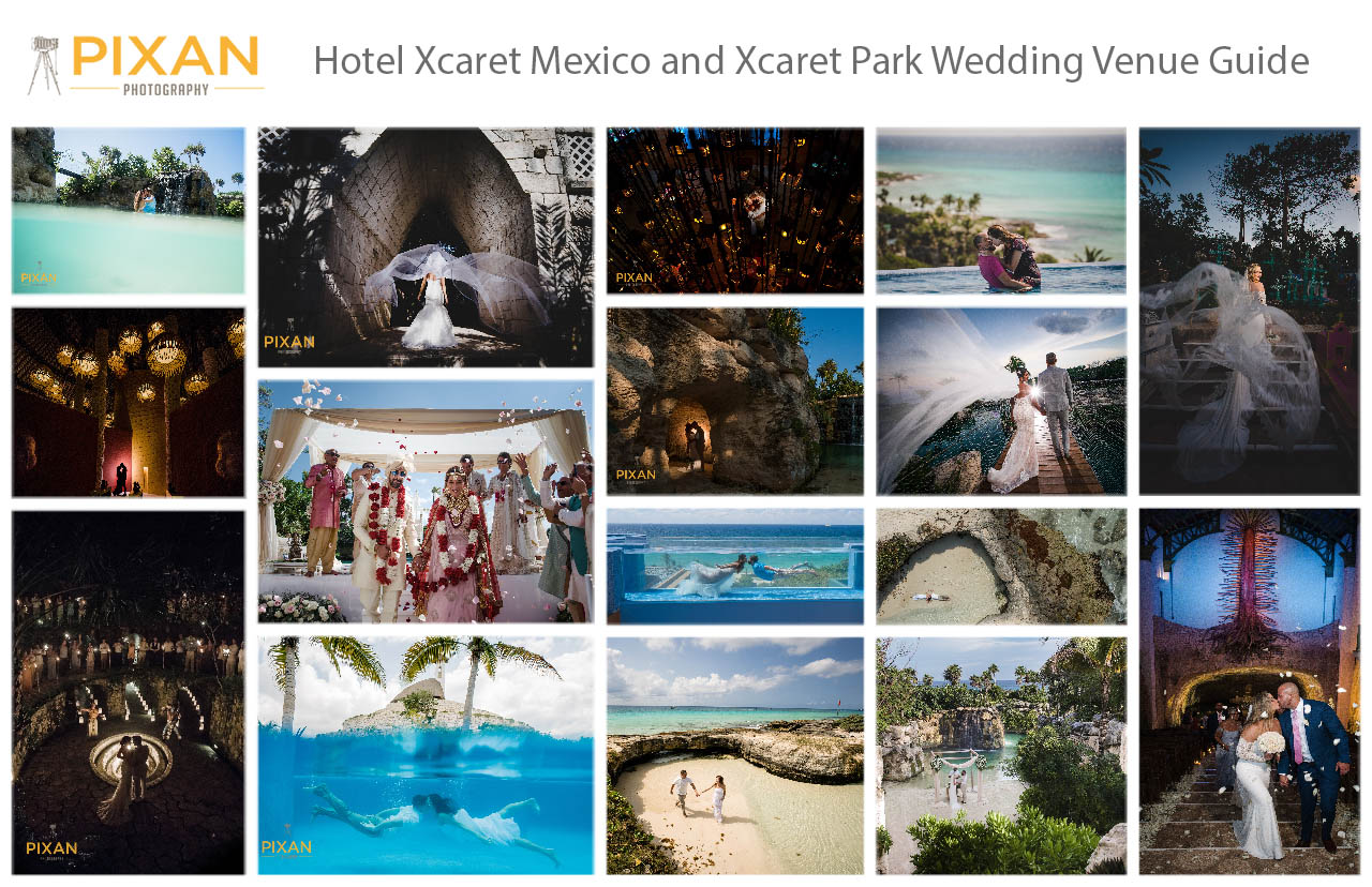 HOTEL-XCARET-MEXICO-XCARET-PARK-WEDDING-VENUE-GUIDE-COLLAGE-PIXAN-PHOTOGRAPHY