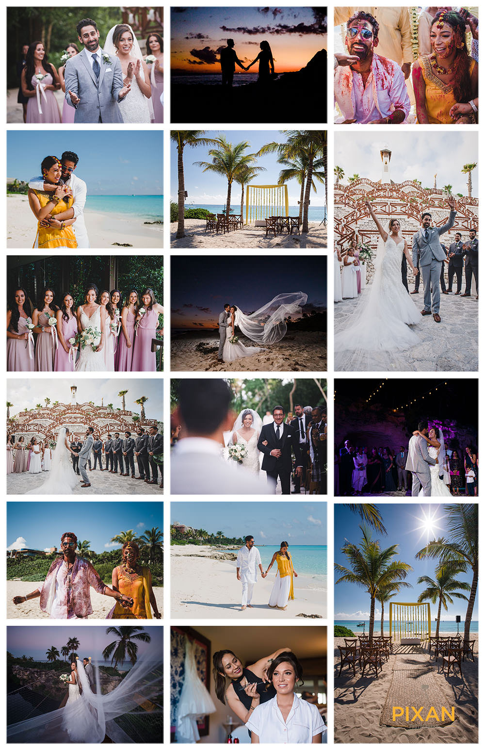 Wedding-photo-collage-Explanada-Xerro