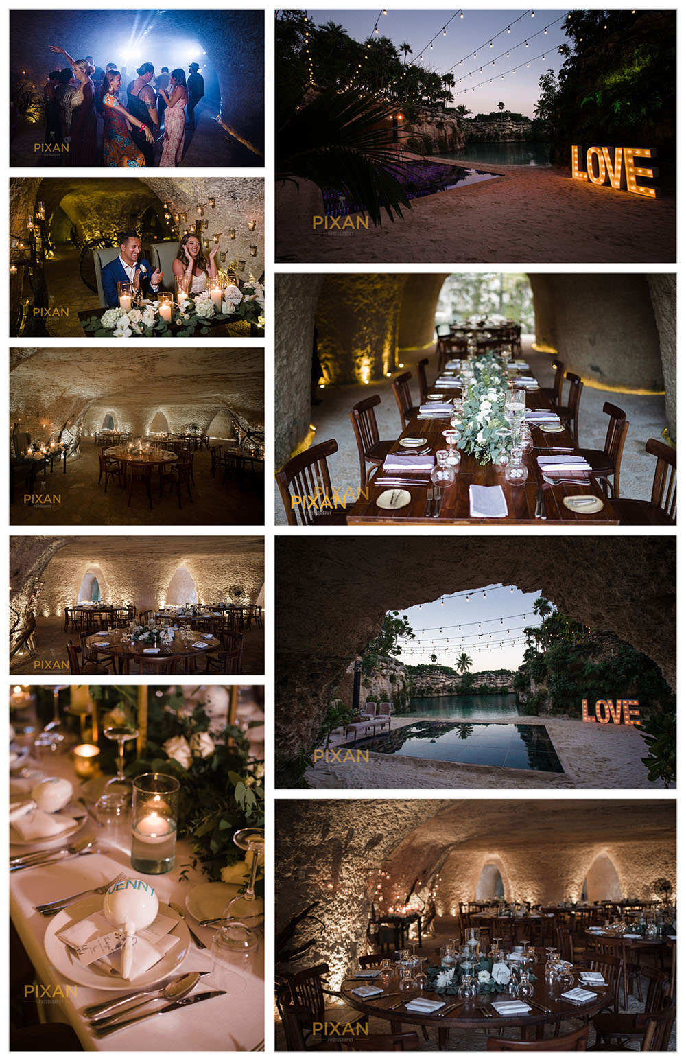 Cuevas-Restaurant-Wedding-Reception-Venue-Hotel-Xcaret