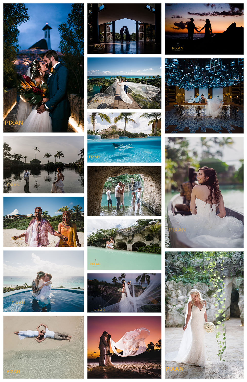 Why-Pixan-Photography-Collage-Hotel-Xcaret-Mexico