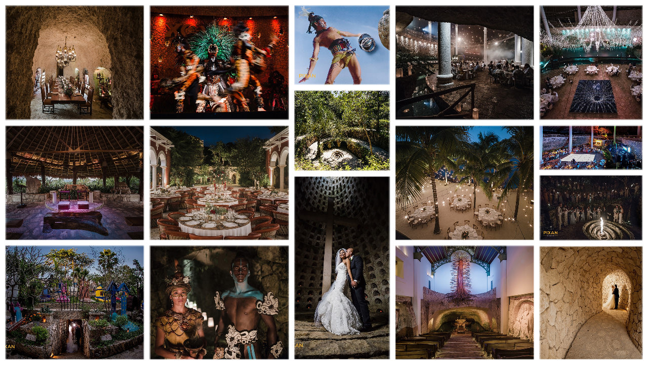 Xcarert-Park-Wedding-Venue-collage-Pixan-Photography