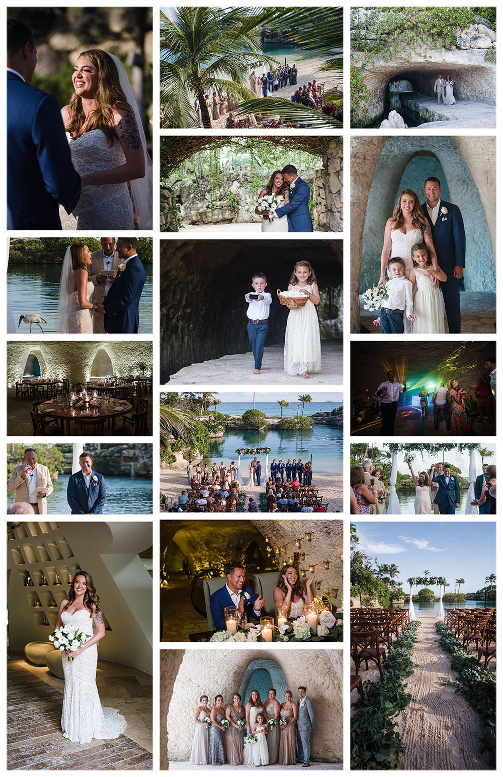 caleta-fuego-wedding-collage