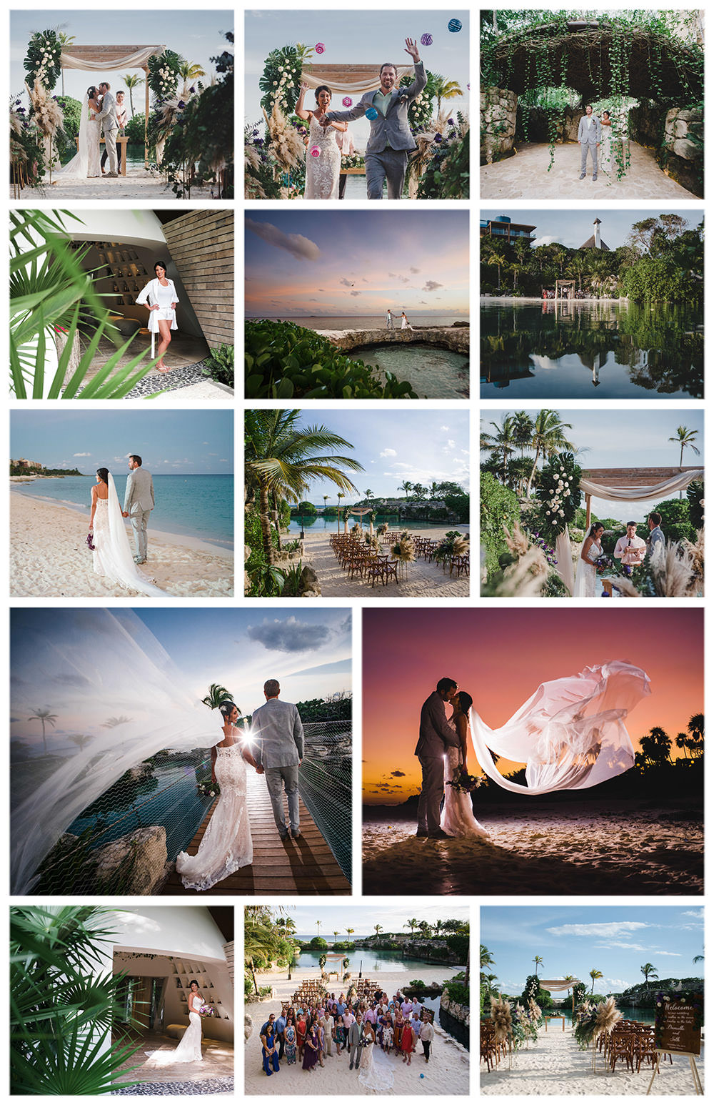 Caleta-Fuego-fuego-inlet-wedding-ceremony-collage