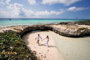 hotel xcaret mexico wedding romantic coastal run