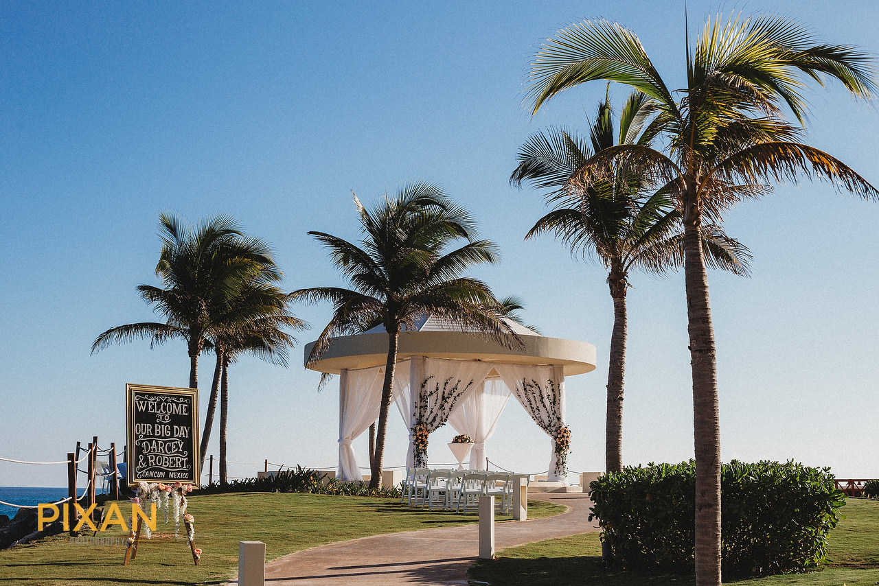 hyatt ziva cancun gazebo