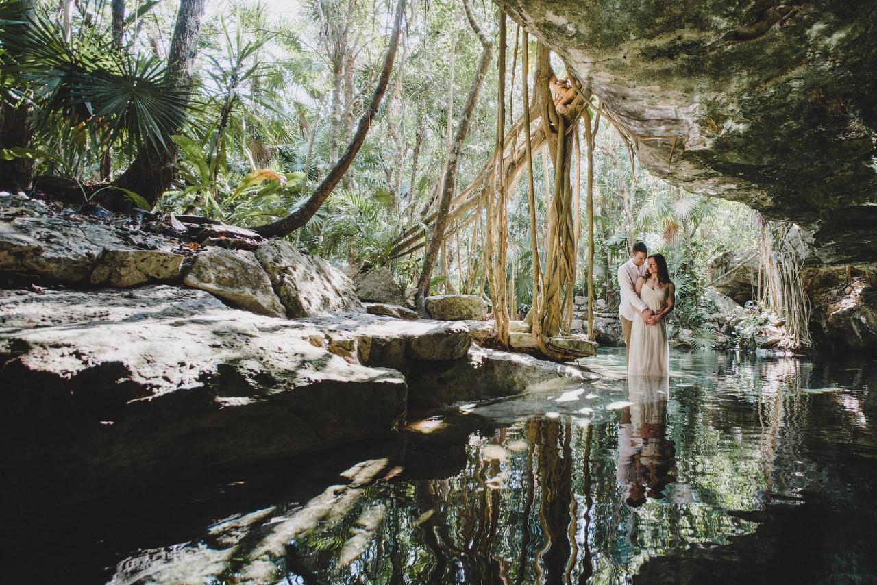 cenote caves romance