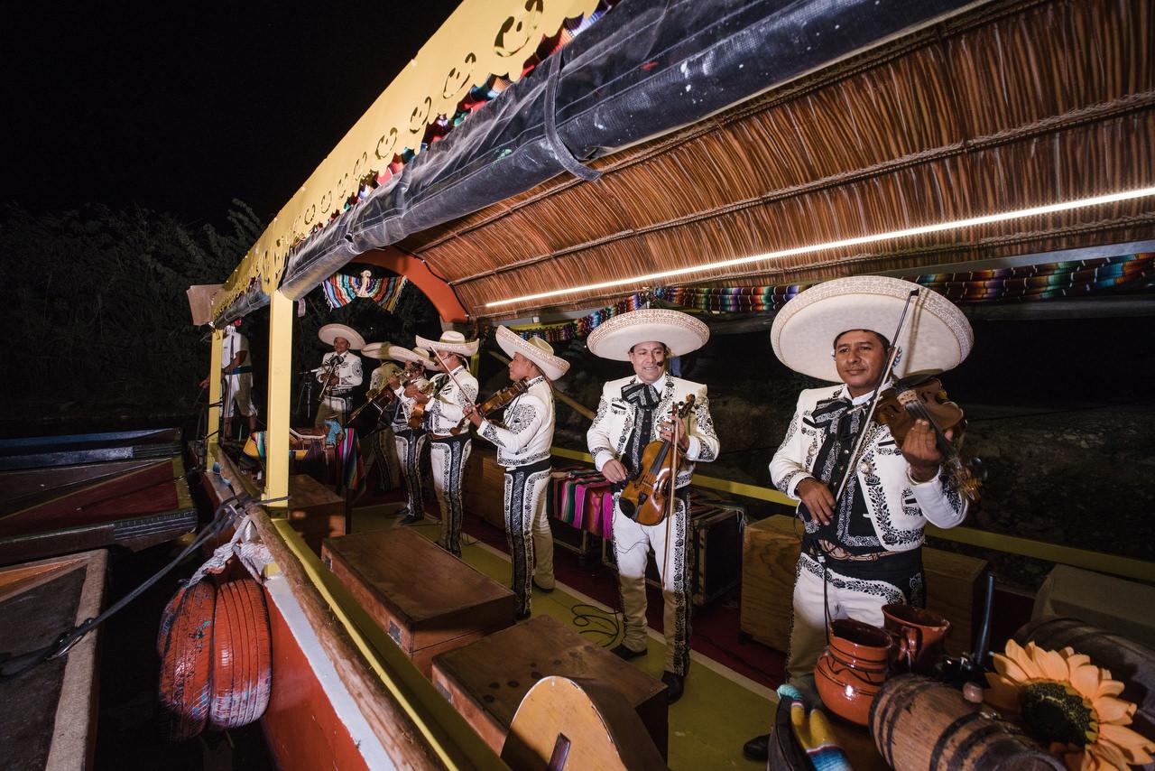 Xoximilco Rehearsal dinner mariachi