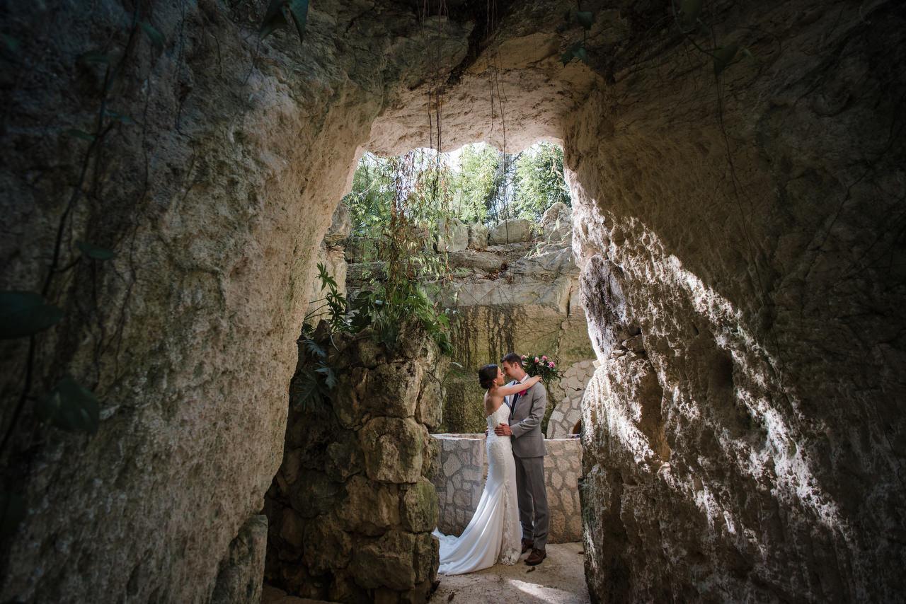 cave romance Hotel Xcaret Mexico