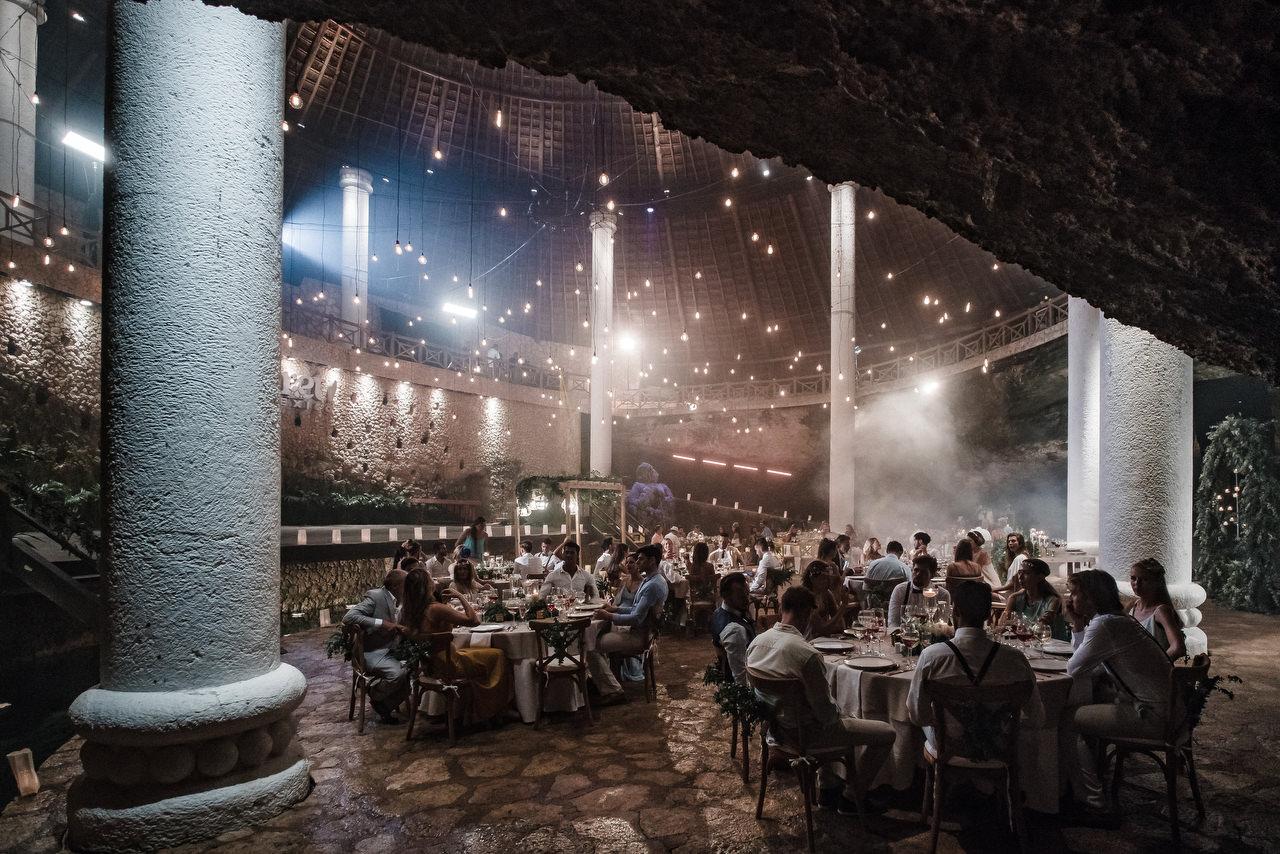 Xcaret Park La Isla Wedding Venue