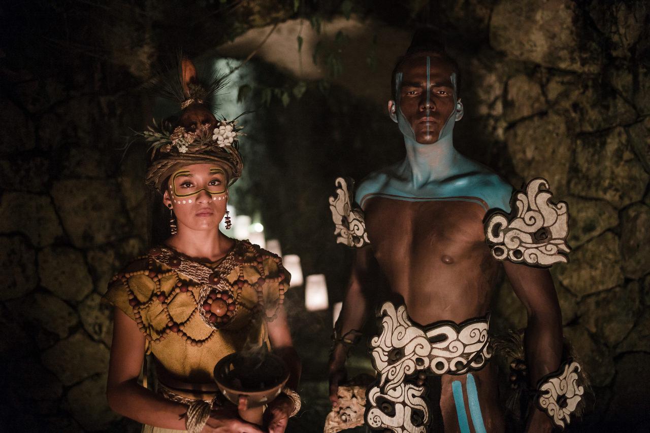 Xcaret Wedding Caracol de la Isla Mayans