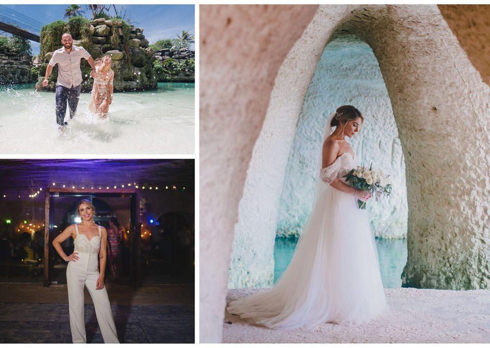 perfect-wedding-dress-for-riviera-maya-collage